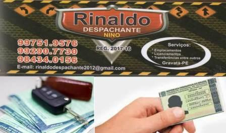 RINALDO DESPACHANTE